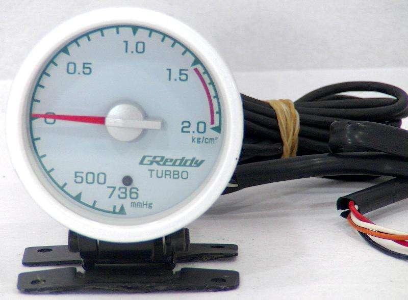 TRUST Greddy 60mm BOOST gauge 180sx S13 R32 R33 R34 Supra Imprez