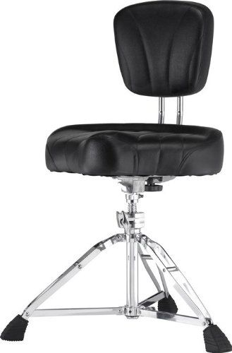 New Pearl D 2500br Cushion Drum Throne With Back Rest