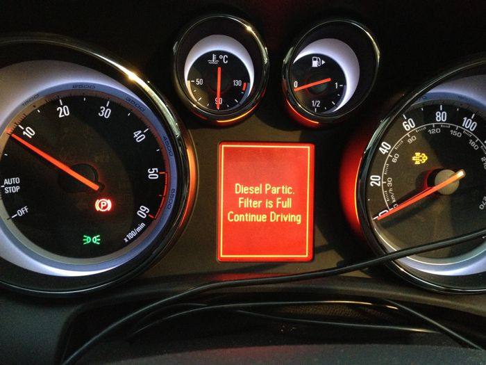 Has Anyone Actually Ever Seen Their Dpf Light Whilst Driving