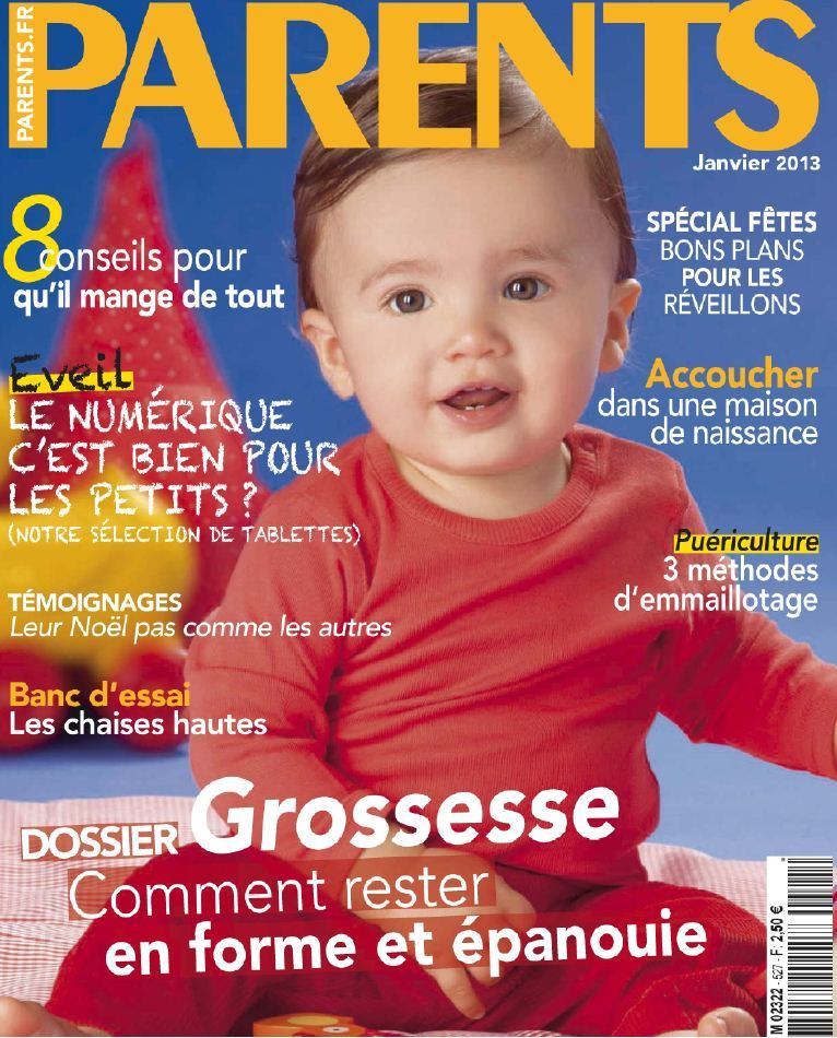 Parents N°527 Janvier 2013
