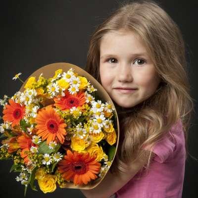 Букет цветов из коллекции «МидиФан»