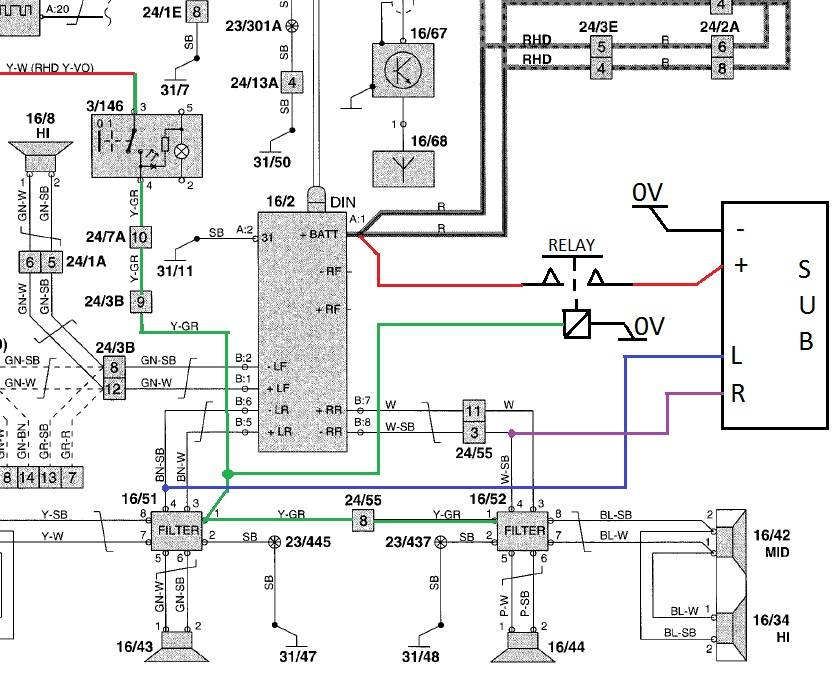 2002 hyundai sonata headlight wiring diagram