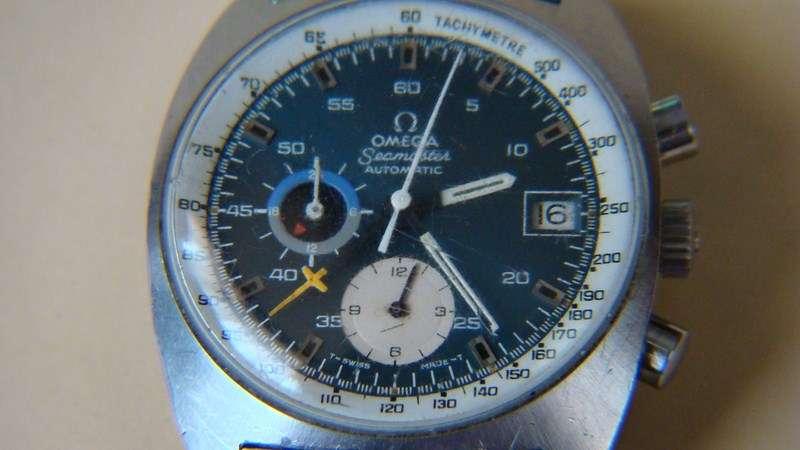 Vendido OMEGA Seamaster Chrono Mod. 176.007