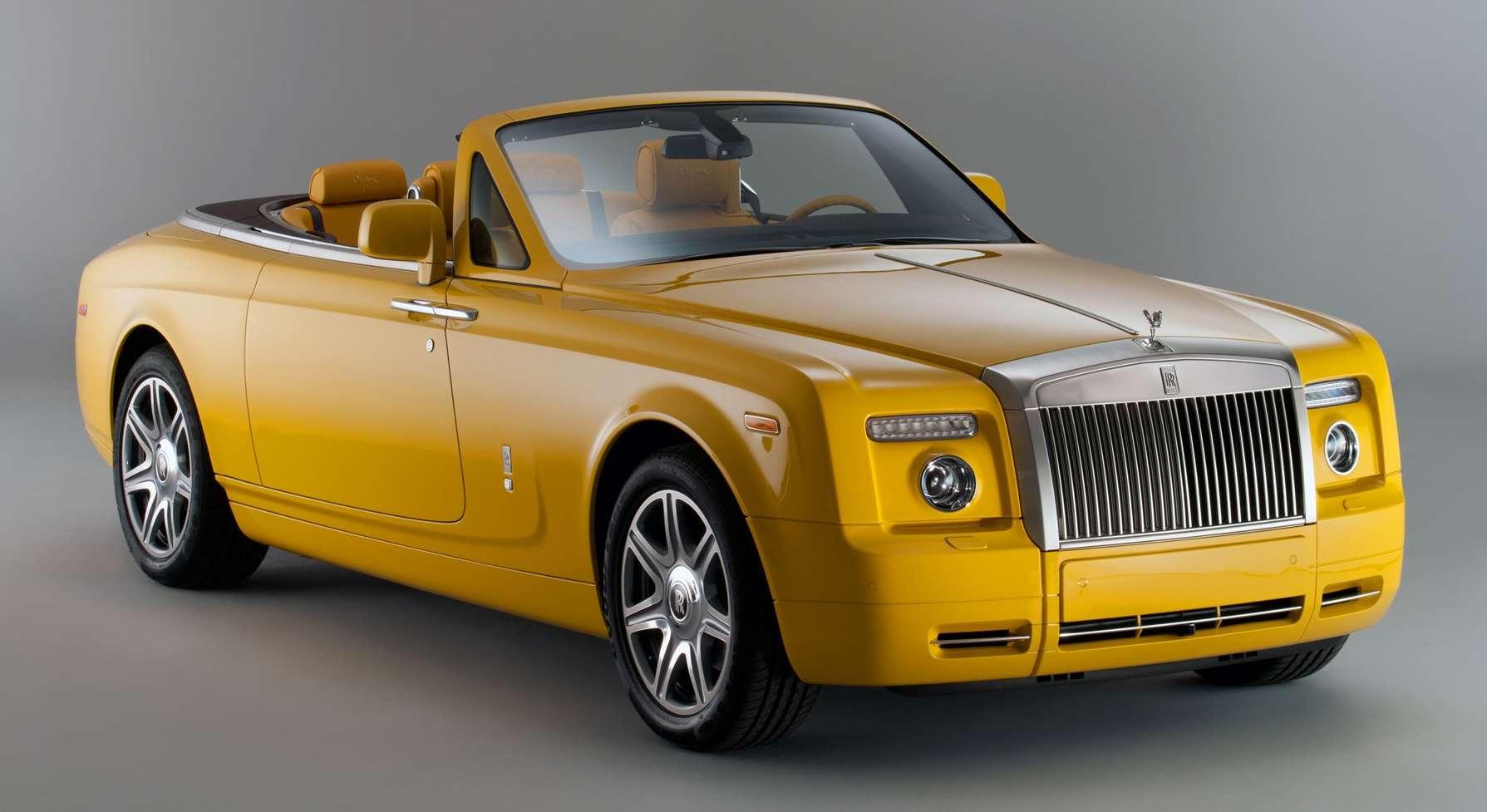 Rolls-Royce Phantom Drophead Coupe Bespoke By Bijan